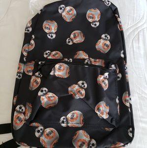 📚NWT Star Wars BB8 Backpack